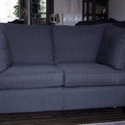 "Lounge suite ""Milano"" 2-seat grey fabric"
